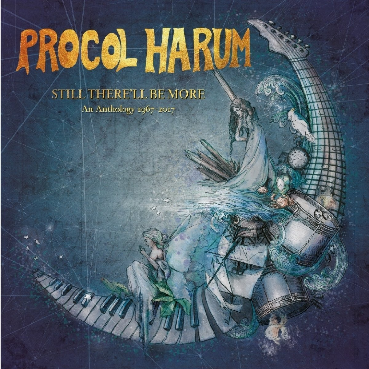 Still Therell Be More: An Anthology 1967-2017 - Procol Harum - Musik - ESOTERIC RECORDINGS - 5013929471009 - 23/3-2018