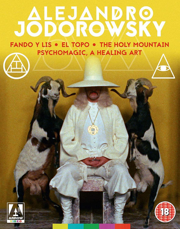 Alejandro Jodorowsky Collection -  - Film - ARROW VIDEO - 5027035021010 - 24/8-2020