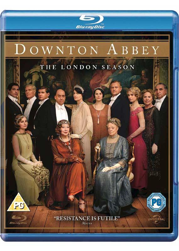 Downton Abbey  London Season 2013 BD - TV Series - Film - UNIVERSAL PICTURES - 5050582961010 - 26/12-2013
