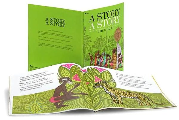 A Story, a Story - Gail E. Haley - Bøger - Aladdin - 9780689712012 - 28/2-1988