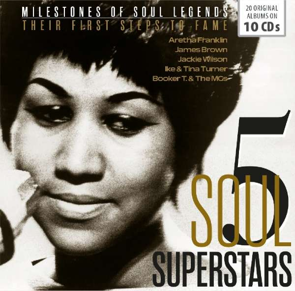 5 Soul Stars - First Steps to Fame - V/A - Musik - MEMBRAN - 4053796005014 - 26/10-2018