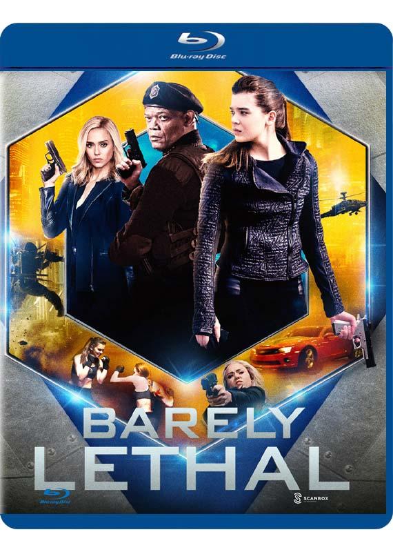 Barely Lethal - Hailee Steinfeld / Jessica Alba / Samuel L. Jackson - Film -  - 5706140515019 - 24/12-2015
