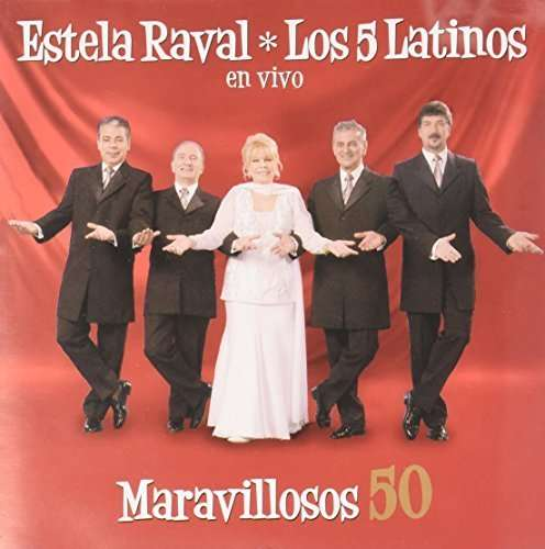 Maravillosos 50 - Estela Raval - Musik - Epsa - 0607000865020 - 1/8-2007
