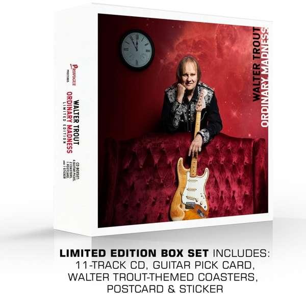 Ordinary Madness - Walter Trout - Musik - PROVOGUE - 0810020502022 - 28/8-2020