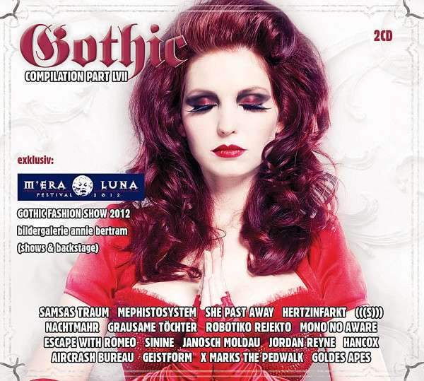 Gothic Compilation 57 - V/A - Musik - BATBELIEVER - 4040155009028 - 14/12-2012
