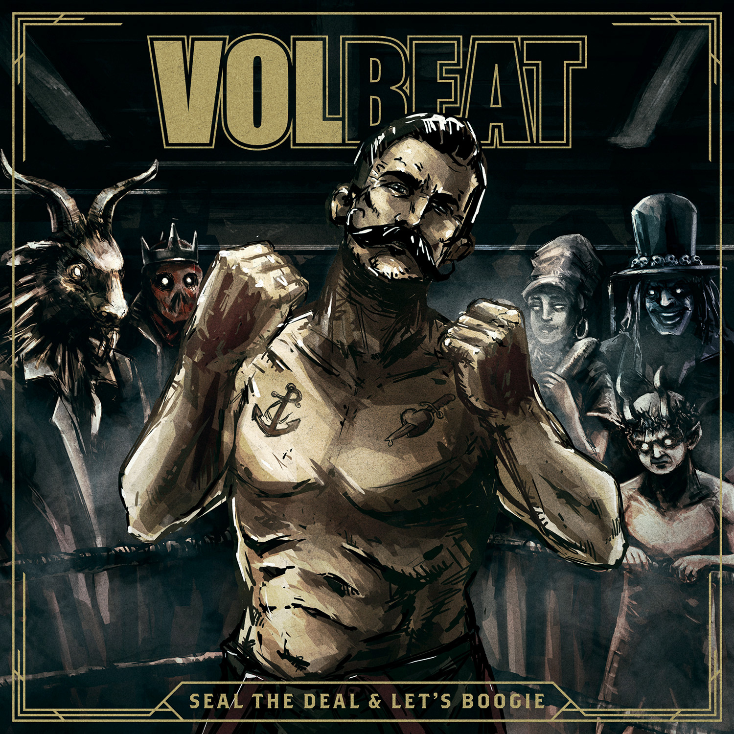 Seal The Deal & Let's Boogie - Volbeat - Musik - UNIVERSAL - 0602547791030 - 3/6-2016