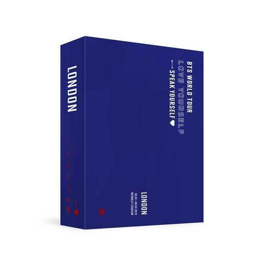 WORLD TOUR 'LOVE YOURSELF : SPEAK YOURSELF' LONDON DVD - BTS - Musik - Big Hit Entertainment - 8809375122032 - 24/9-2020