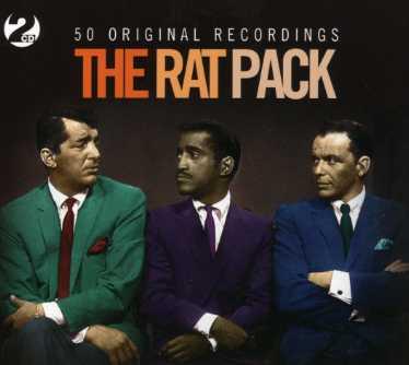 50 Original Recordings - Rat Pack - Musik - NOT NOW MUSIC - 5060143492044 - 5/2-2007