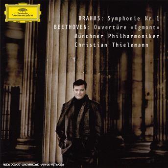 "Brahms: Symphony No.1 / Beethoven: ""Egmont"" Overture - Christian Thielemann - Musik - CLASSICAL - 0028947764045 - 15/5-2007"