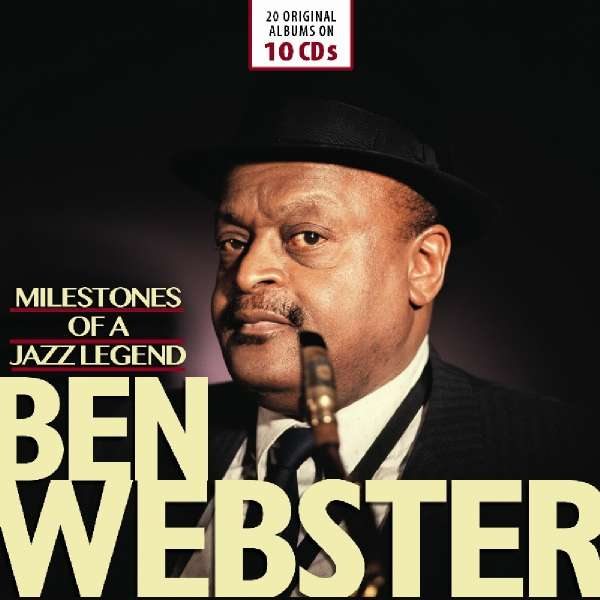 Milestones of a Jazz Legend - Ben Webster - Musik - MEMBRAN - 4053796005045 - 18/1-2019