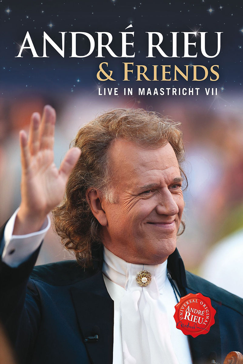 Live in Maastricht VII - André Rieu & Friends - Film - UNIVERSAL - 0602537537051 - 28/10-2013