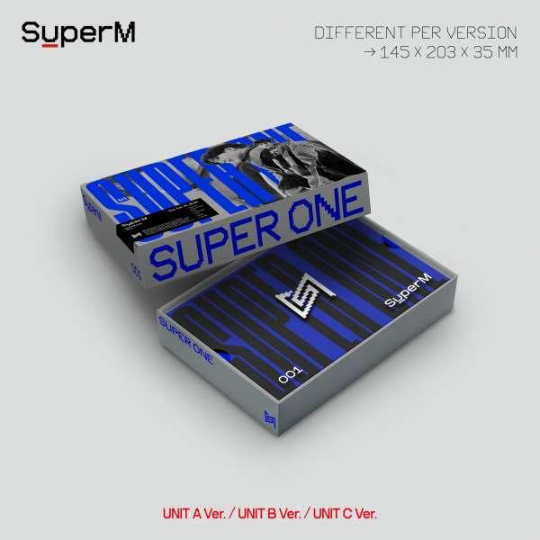 Superm The 1st Album Super One - Superm - Musik - EMI - 8809718448058 - 25/9-2020