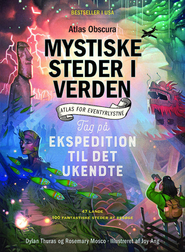 Mystiske steder i verden - Dylan Thuras & Rosemary Mosco - Bøger - Legind - 9788771559064 - 11/8-2020