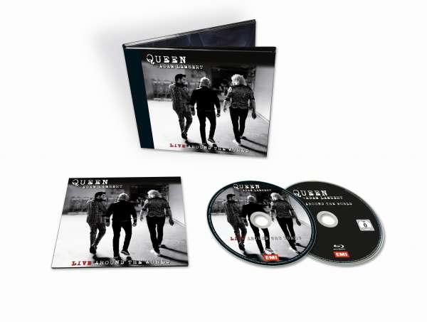 Live Around the World - Queen & Adam Lambert - Musik - UNIVERSAL - 0602507394066 - 2/10-2020