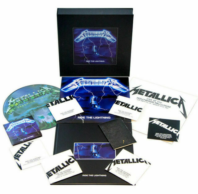 Ride The Lightning - Metallica - Musik - VERTIGO - 0858978005066 - 29/4-2016