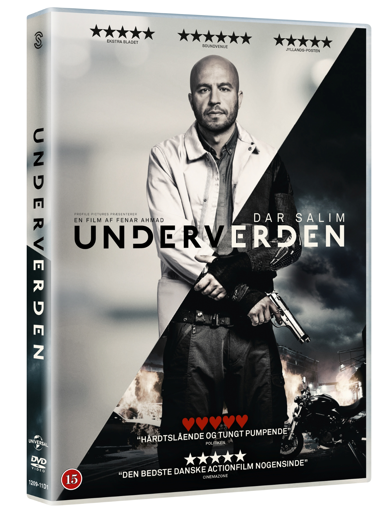 Underverden - Dar Salim - Film - JV-UPN - 5706168999068 - 1/6-2017