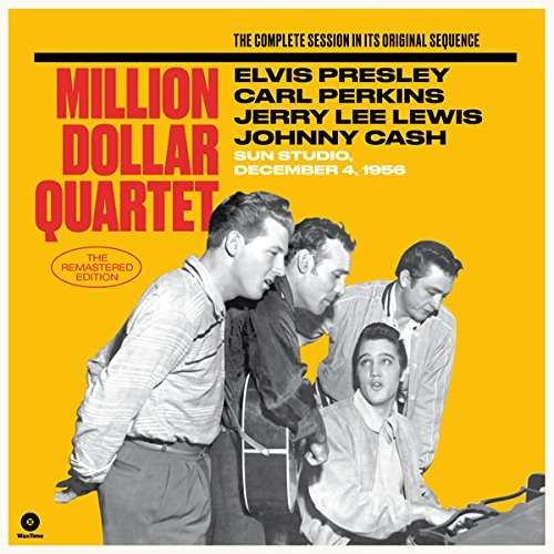 Million Dollar Quartet (The Complete Session On Its Original Sequence) (Deluxe Editoin) - Elvis Presley / Carl Perkins / Jerry Lee Lewis / Johnny Cash - Musik - WAXTIME - 8436559462068 - 17/2-2017