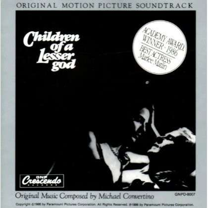 Children of a Lesser God - O.s.t - Musik - GNP - 0090204970070 - 30/6-1990