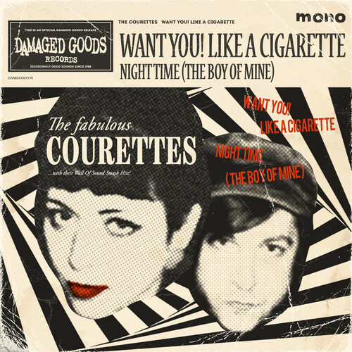 Want You! Like a Cigarette - Courettes - Musik - DAMAGED GOODS - 5020422053076 - 22/5-2020