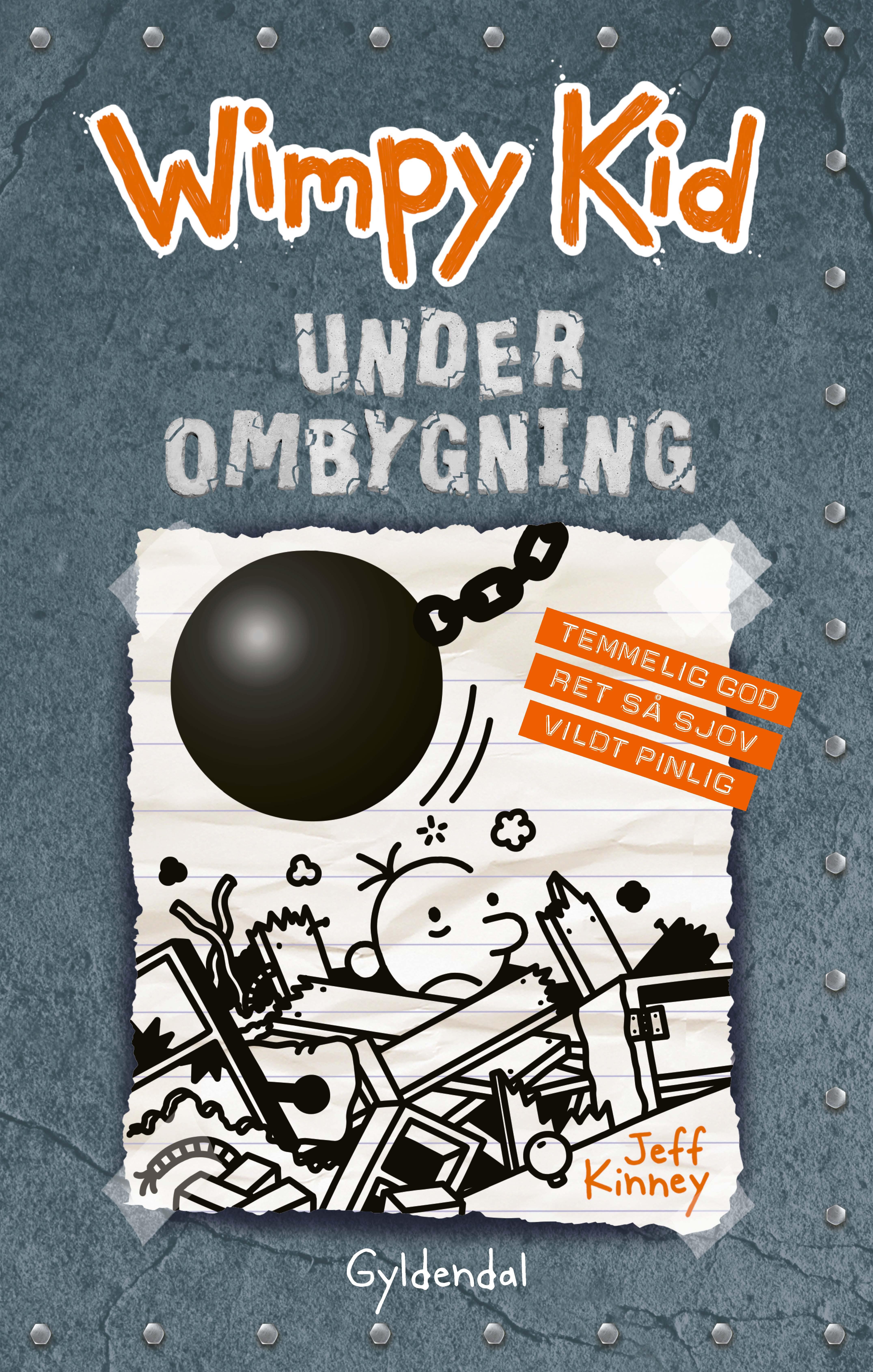 Wimpy kid: Wimpy Kid 14 - Under ombygning - Jeff Kinney - Bøger - Gyldendal - 9788702277104 - 27/1-2020