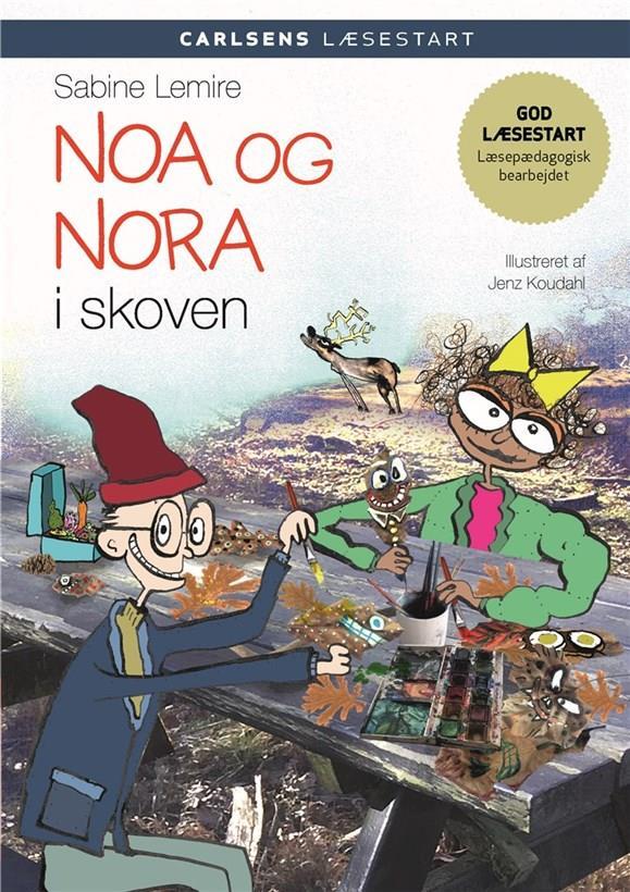 Carlsens Læsestart: Carlsens læsestart - Noa og Nora i skoven - Sabine Lemire - Bøger - CARLSEN - 9788711913116 - 8/8-2019