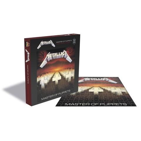 Master of Puppets (1000 Piece Jigsaw Puzzle) - Metallica - Brætspil - ZEE COMPANY - 0803343262117 - 21/9-2020
