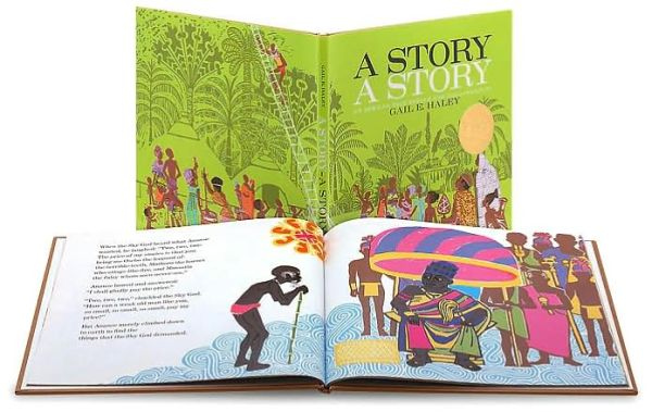 A Story, a Story - Gail E. Haley - Bøger - Atheneum Books for Young Readers - 9780689205118 - 1/2-1970