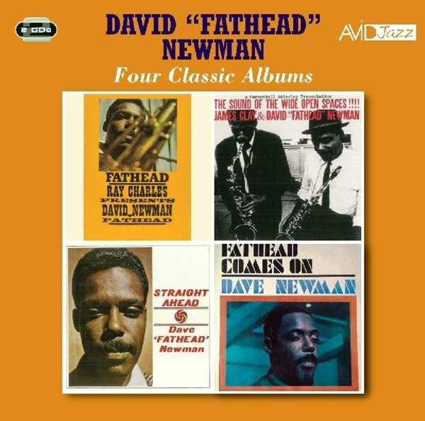 Four Classic Albums (Ray Charles Presents David Newman / The Sound Of Wide Open Spaces / Straight Ahead / Fathead Comes On) - David Fathead Newman - Musik - AVID - 5022810724124 - 6/7-2018