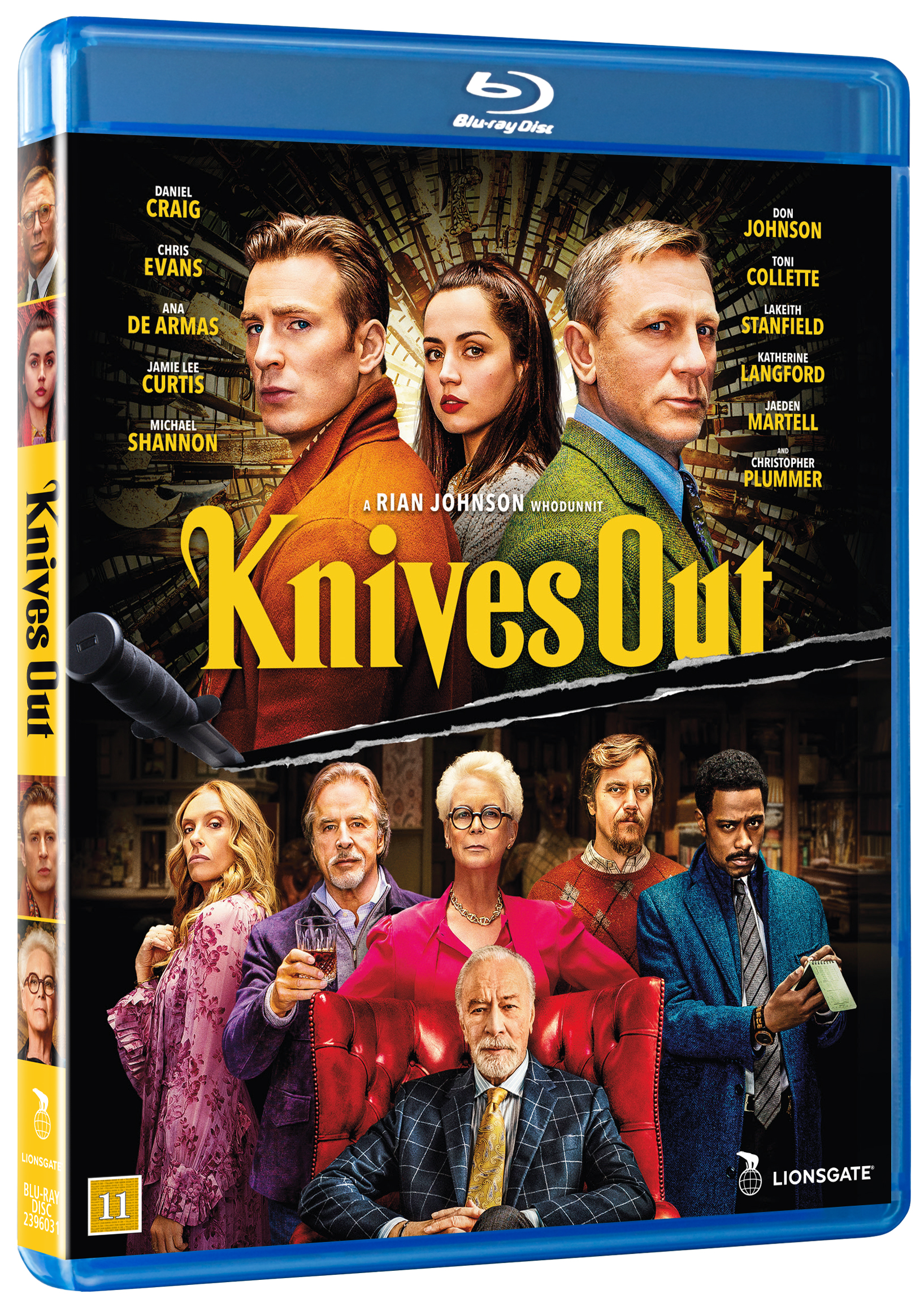 Knives out -  - Film -  - 5708758725125 - 6/4-2020