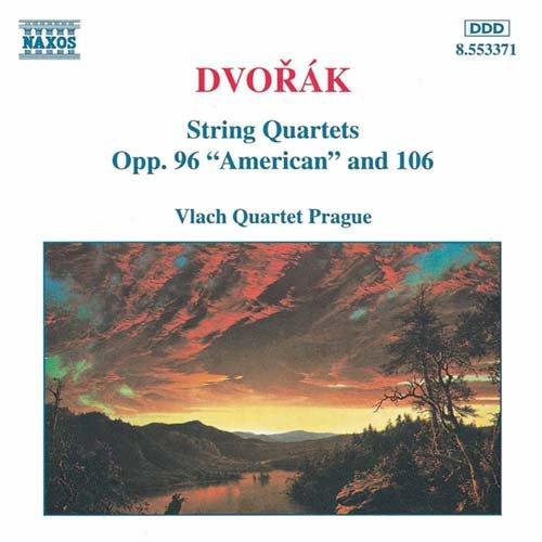 String Quartets Op.96/106 - Dvorak - Musik - NAXOS - 0730099437127 - 26/11-1997
