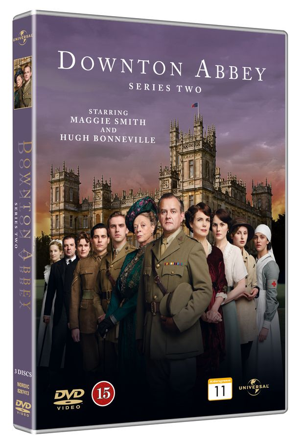 Downton Abbey - Sæson 2 - Series - Film -  - 5050582874136 - 3/4-2012