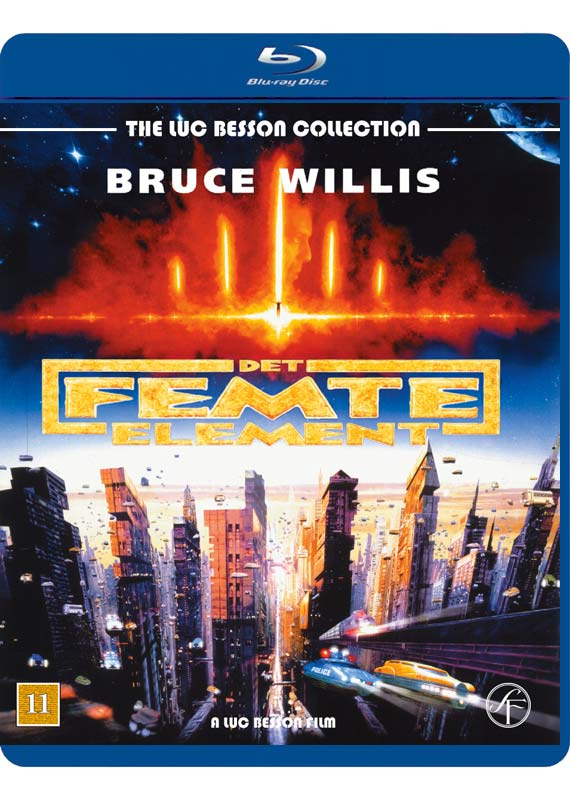 The Fifth Element - Det Femte Element - Film -  - 5704028218137 - 6/2-2020