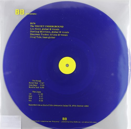 Live At End Of Cole Avenue In Dallas. Texas. 28Th Of October 1969 - The Velvet Underground - Musik - DBQP - 0889397004149 - 5/4-2019