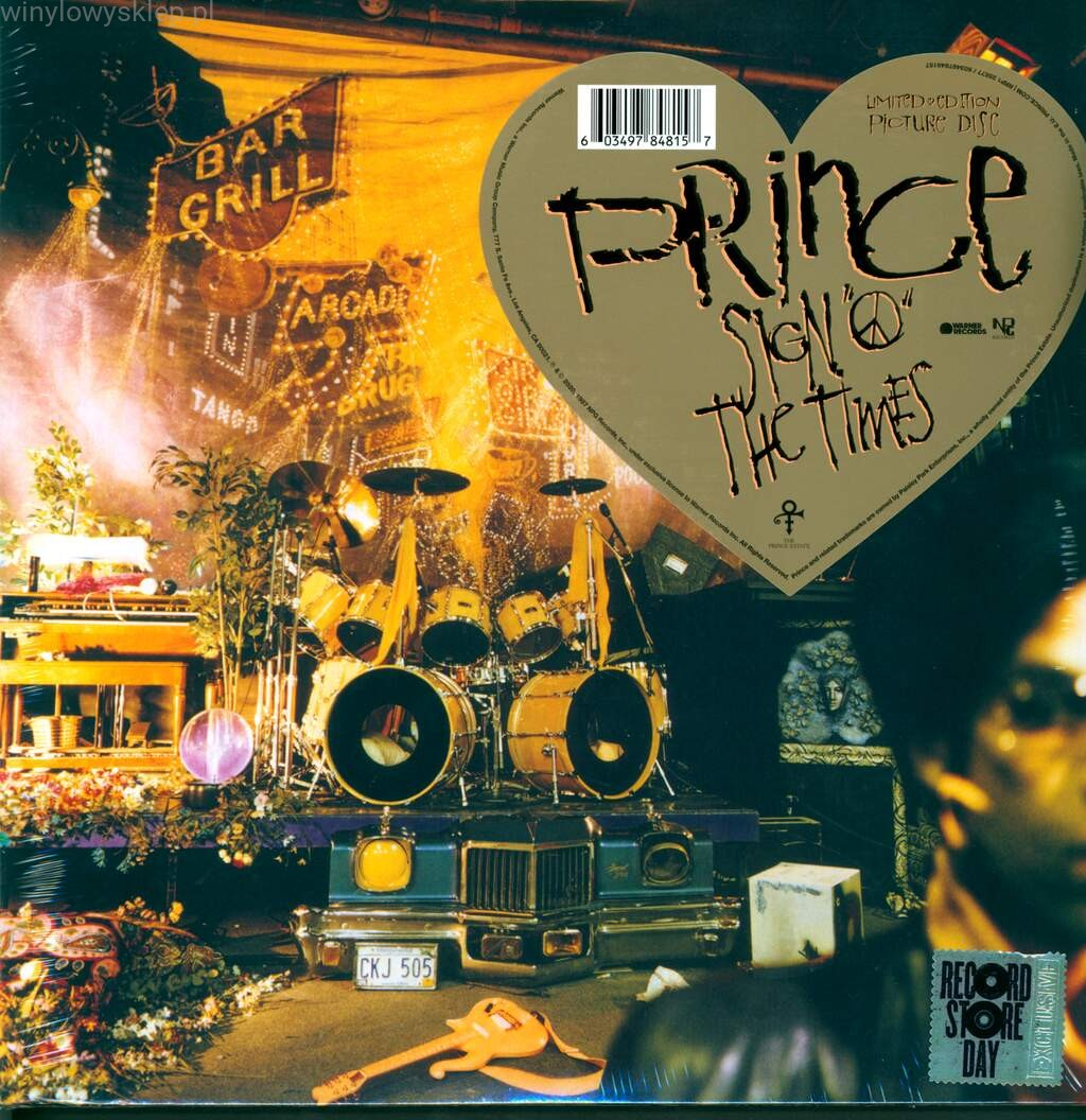Sign O' the Times (RSD picture disc) - Prince - Musik - WARNER - 0603497848157 - 24/10-2020