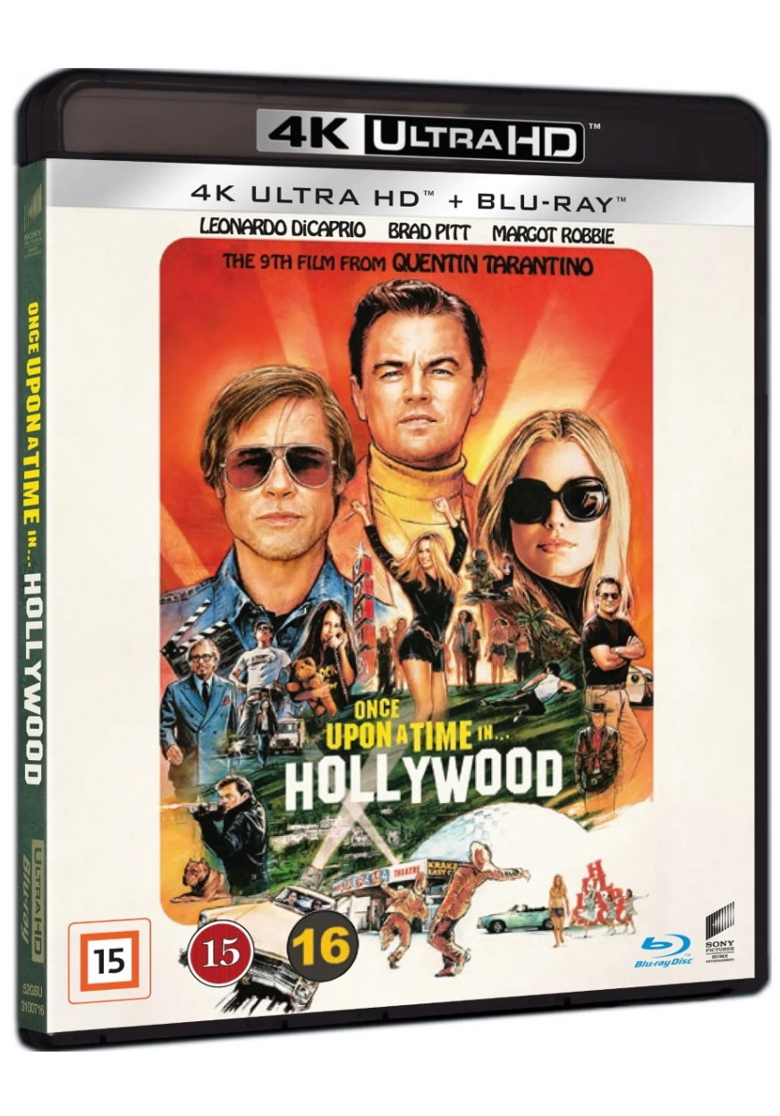 Once Upon a Time in Hollywood - Quentin Tarantino - Film -  - 7330031007161 - 27/12-2019