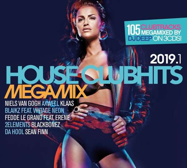 House Clubhits Megamix 2019.1 - V/A - Musik - SELECTED - 4032989514175 - 1/2-2019