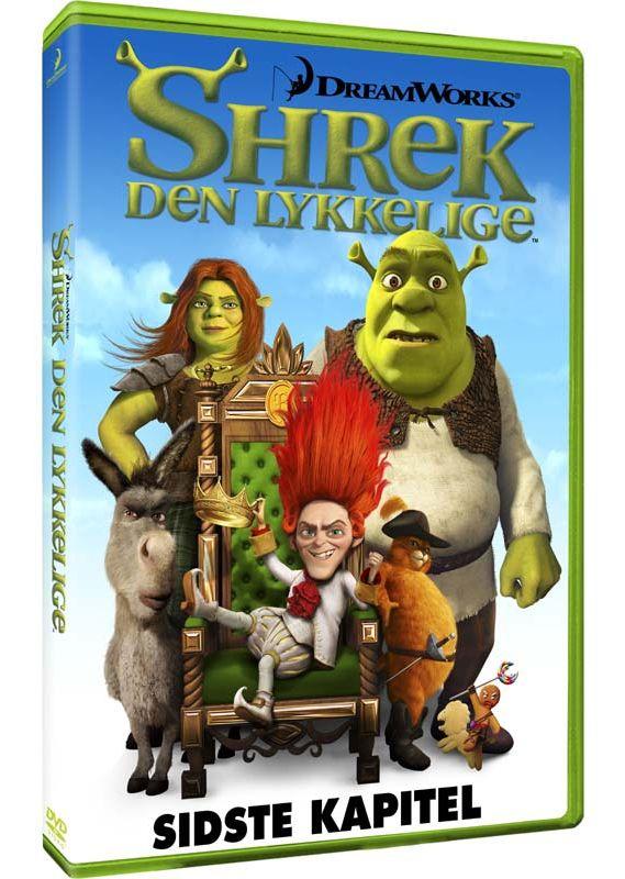 Shrek Forever After Shrek 4 Shrek Den Lykkelige 2010 Dvd Dvd Region 2 2017 Imusic Dk