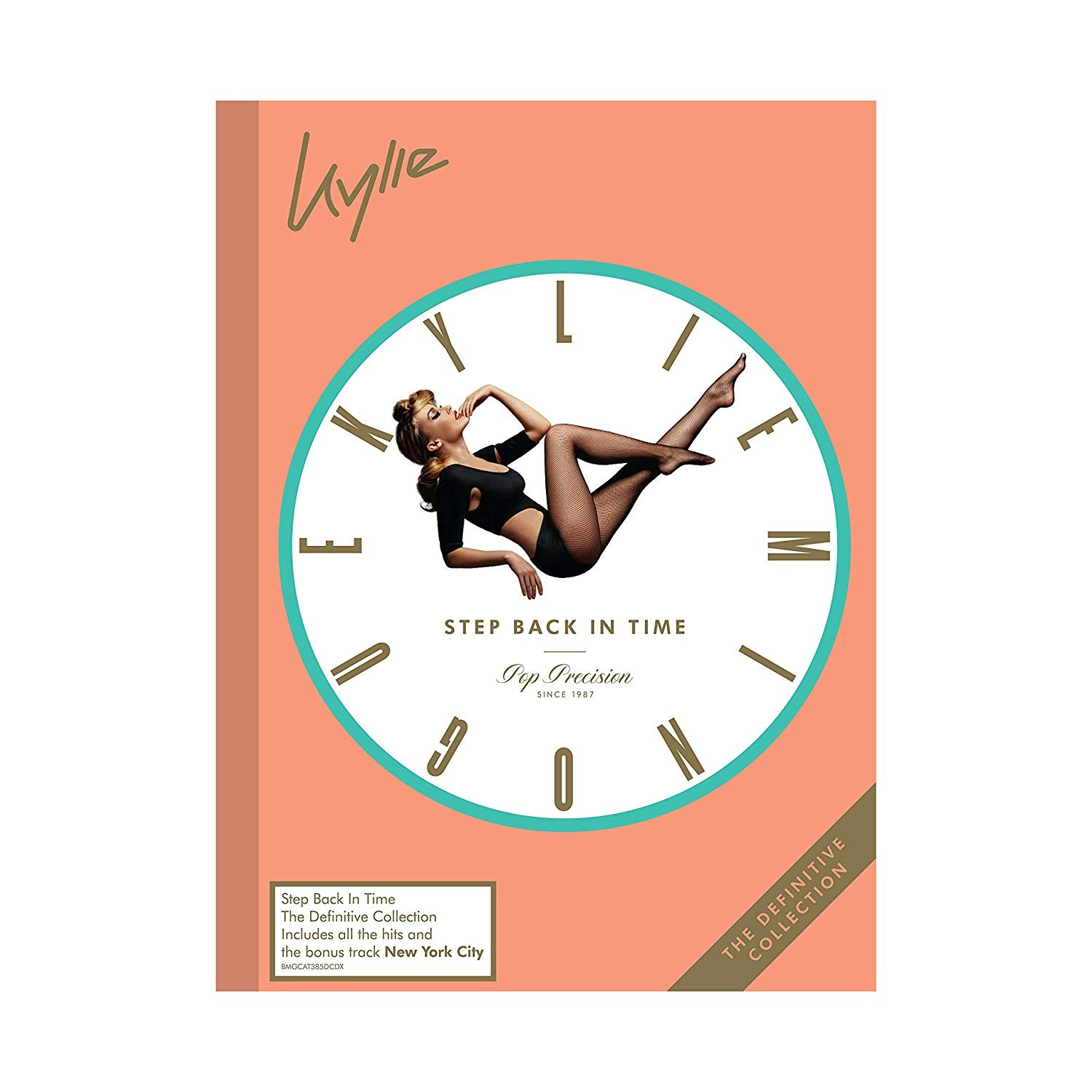 Step Back In Time: The Definitive Collection - Kylie Minogue - Musik - BMGR - 4050538484182 - 28/6-2019
