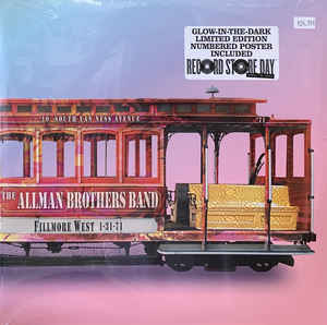 Fillmore West '71 - Allman Brothers Band - Musik - ALLMAN BROTHERS - 0821229000189 - 1/10-2020