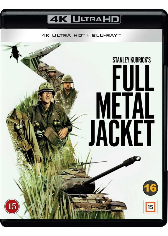 4k Ultra Hd - Full Metal Jacket - Film - Warner Bros. - 7333018017214 - 28/9-2020