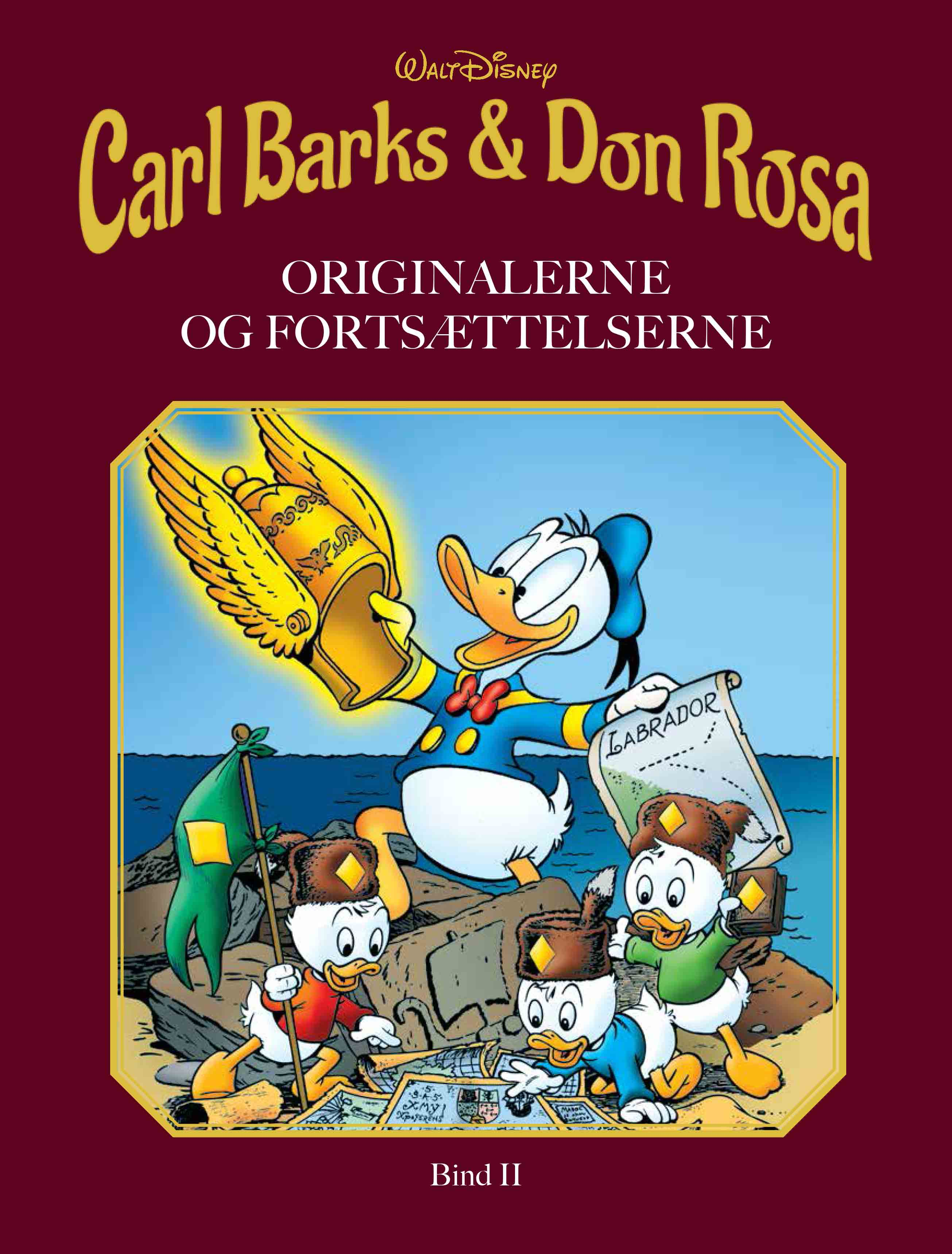 Carl Barks & Don Rosa - Disney - Bøger - Egmont Publishing A/S - 9788793840218 - 21/9-2020