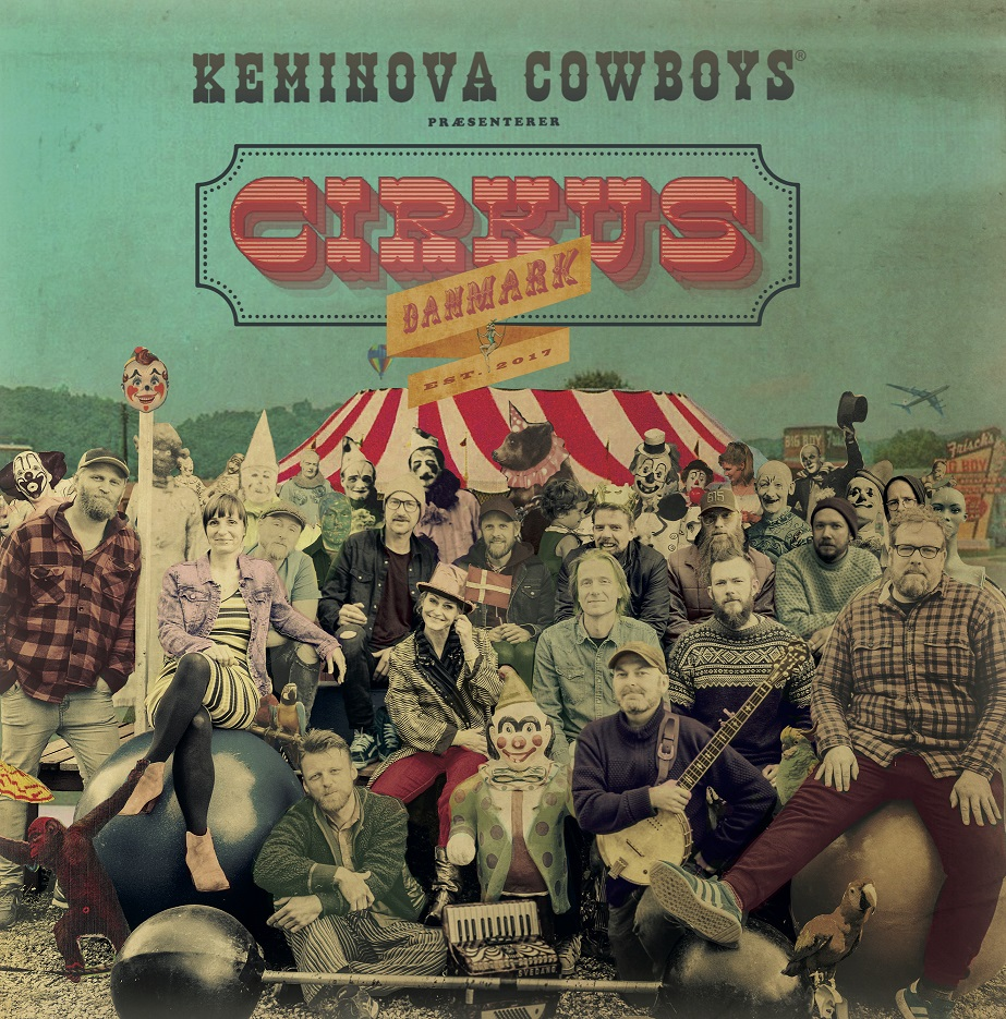 Cirkus Danmark - Keminova Cowboys - Musik - Eagle Vision Records - 5706274010220 - 3/4-2020