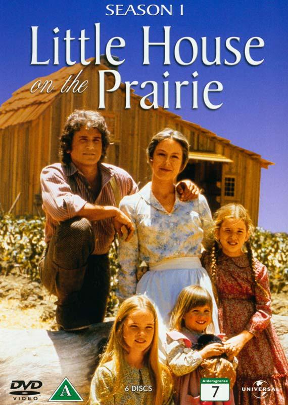 Sæson 1 - Det Lille Hus På Prærien - Film - Universal - 5050582844221 - 18/8-2011