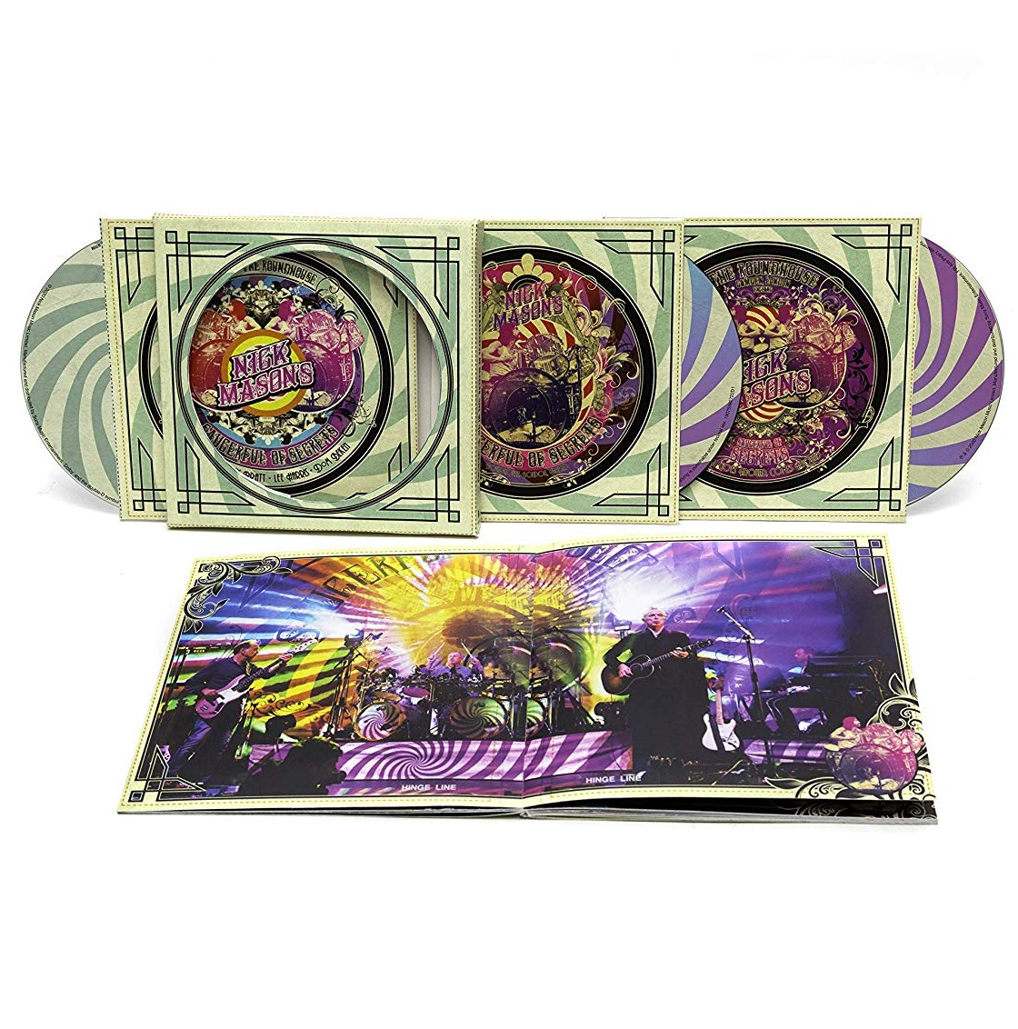 Nick Mason's Saucerful Of Secrets: Live At The Roundhouse - Nick Mason - Musik - LEGACY - 0190759827222 - 18/9-2020