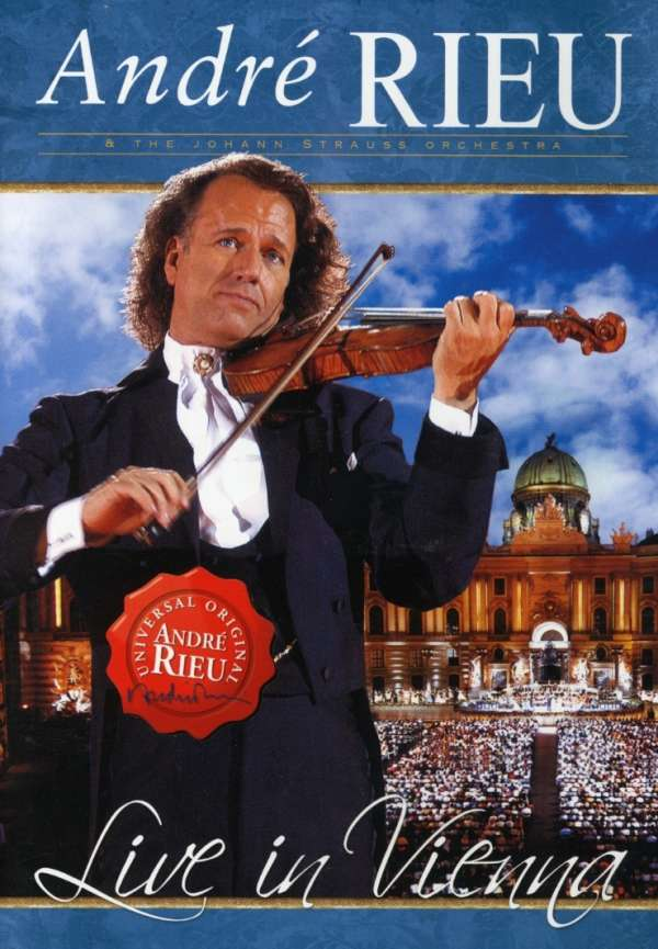 Live in Vienna - Andre Rieu - Film - UNIVERSAL - 0602517584242 - 17/1-2008