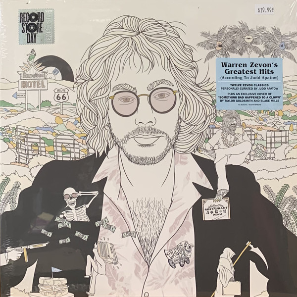 Greatest Hits (RSD 2020) - Warren Zevon - Musik - RHINO RECORDS - 0603497848249 - 24/10-2020