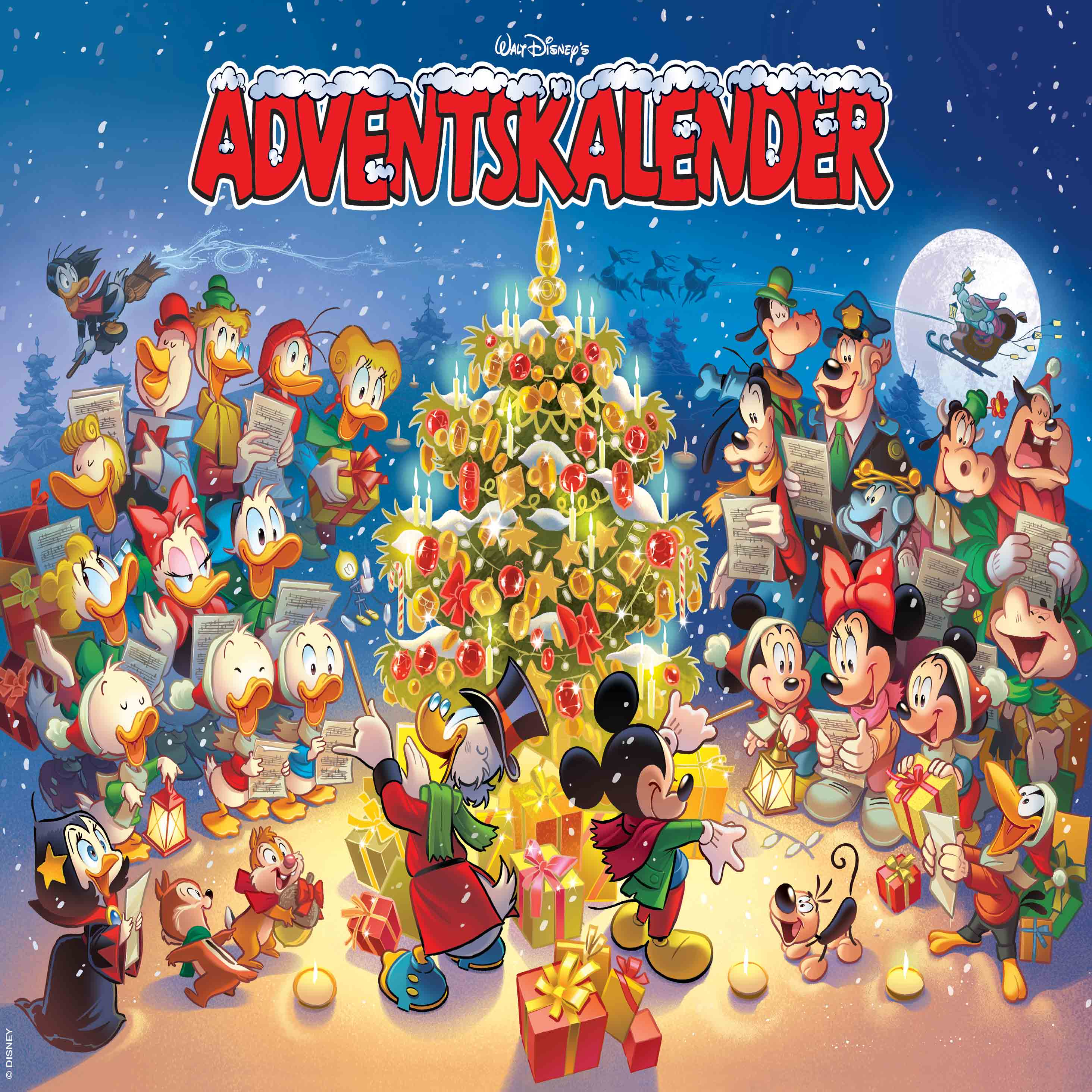 Walt Disney's Adventskalender - Disney - Bøger - Egmont Publishing A/S - 9788793840249 - 5/10-2020