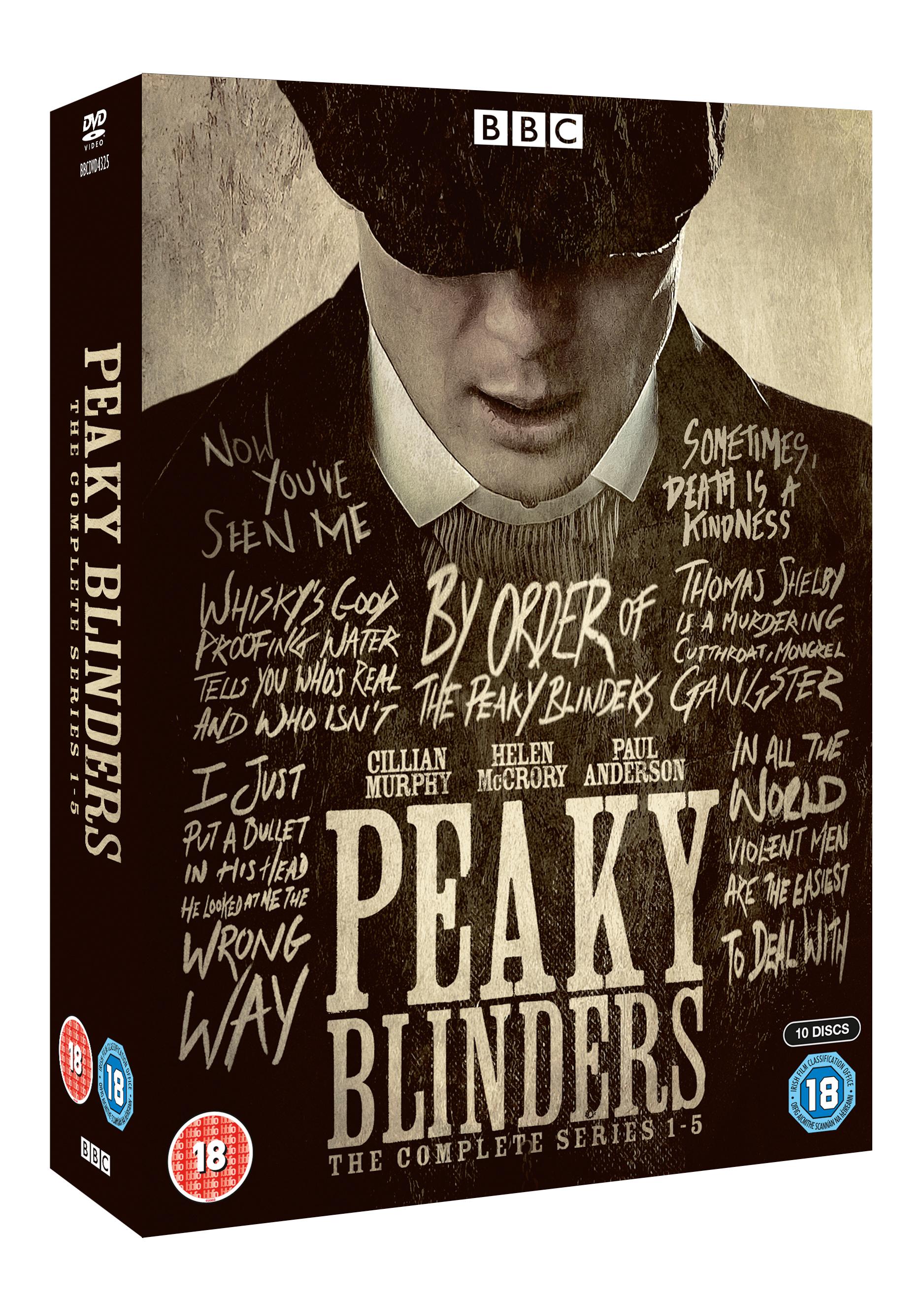 Peaky Blinders: the Complete Series 1-5 - Peaky Blinders - Film - 2ENTE - 5051561043253 - 11/11-2019