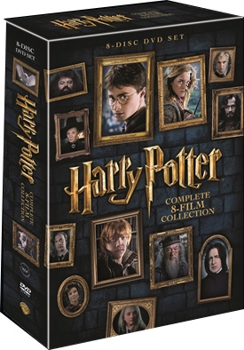 Complete 8-Film Collection - Harry Potter - Film -  - 5051895405253 - 31/10-2016