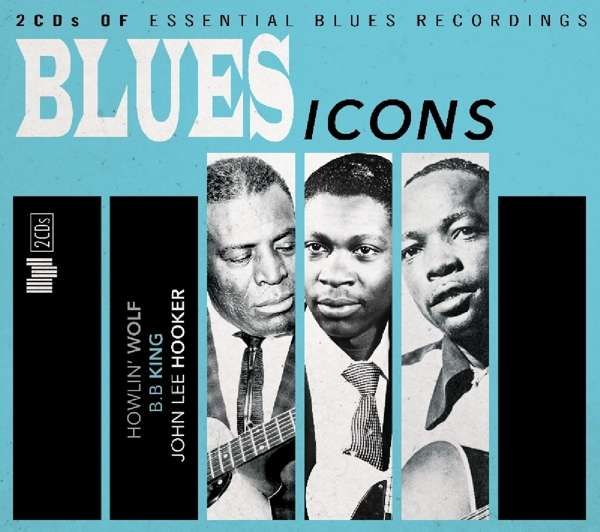 Blues Icons - V/A - Musik - MU KINGDOMMUSIC - 4050538252255 - 31/3-2017